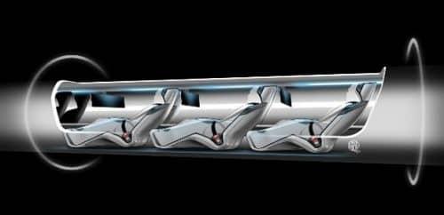 сверхзвуковой поезд hyperloop