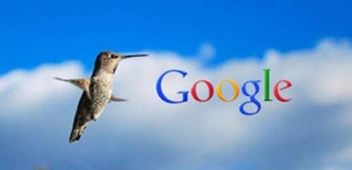 новый поисковый алгоритм Hummingbird от Google
