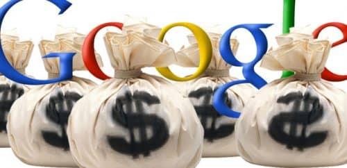 прибыль Google