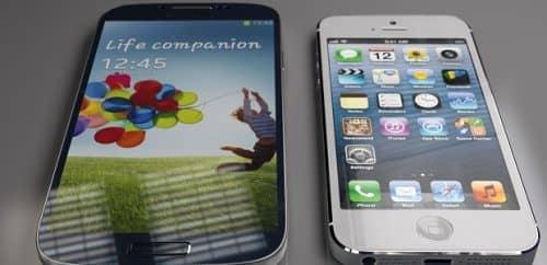 Сравнение iPhone 5S и Galaxy S4