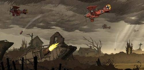 Valiant hearts игра на тему Первой мировой