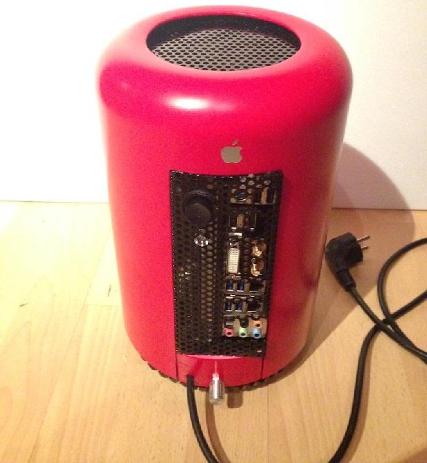 Как сделать самодельный Mac Pro Хакинтош из ведра